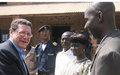 MONUC rehabilitating two important buildings in Dungu