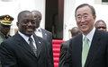 MONUC: Ban Ki-moon recommande une stratégie de retrait responsable