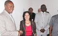 Equateur: Une importante délégation de la MONUC à Mbandaka