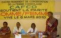 Les femmes soutenues par la MONUC dans leur marche pour la parité
