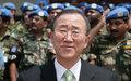 Ban Ki-moon assiste à la célébration des 50 ans d'indépendance de la RDC