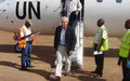 Equateur : John Holmes en visite à Dongo et Mbandaka