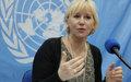 Margot Wallström réaffirme son attachement à la lutte contre les violences sexuelles en RDC
