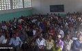 La Charte des Nations Unies présentée à des milliers de personnes à Kinshasa