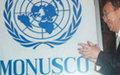 Ban Ki Moon inaugurates the MONUSCO Plaque