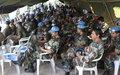 Celebration of the International Peacekeeper's day